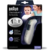 Braun IRT6020 ThermoScan 5 Termometro Auricolare a Infrarossi, Bianco