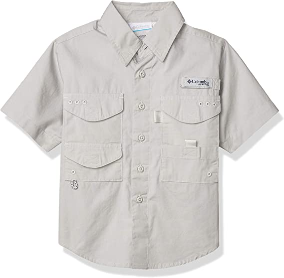 Columbia Boys Toddler PFG Finatic Short Sleeve Shirt