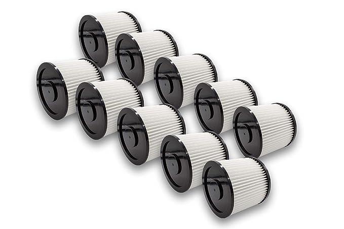 vhbw Rund Filter für Mehrzwecksauger Bosch PAS 850, PAS 900