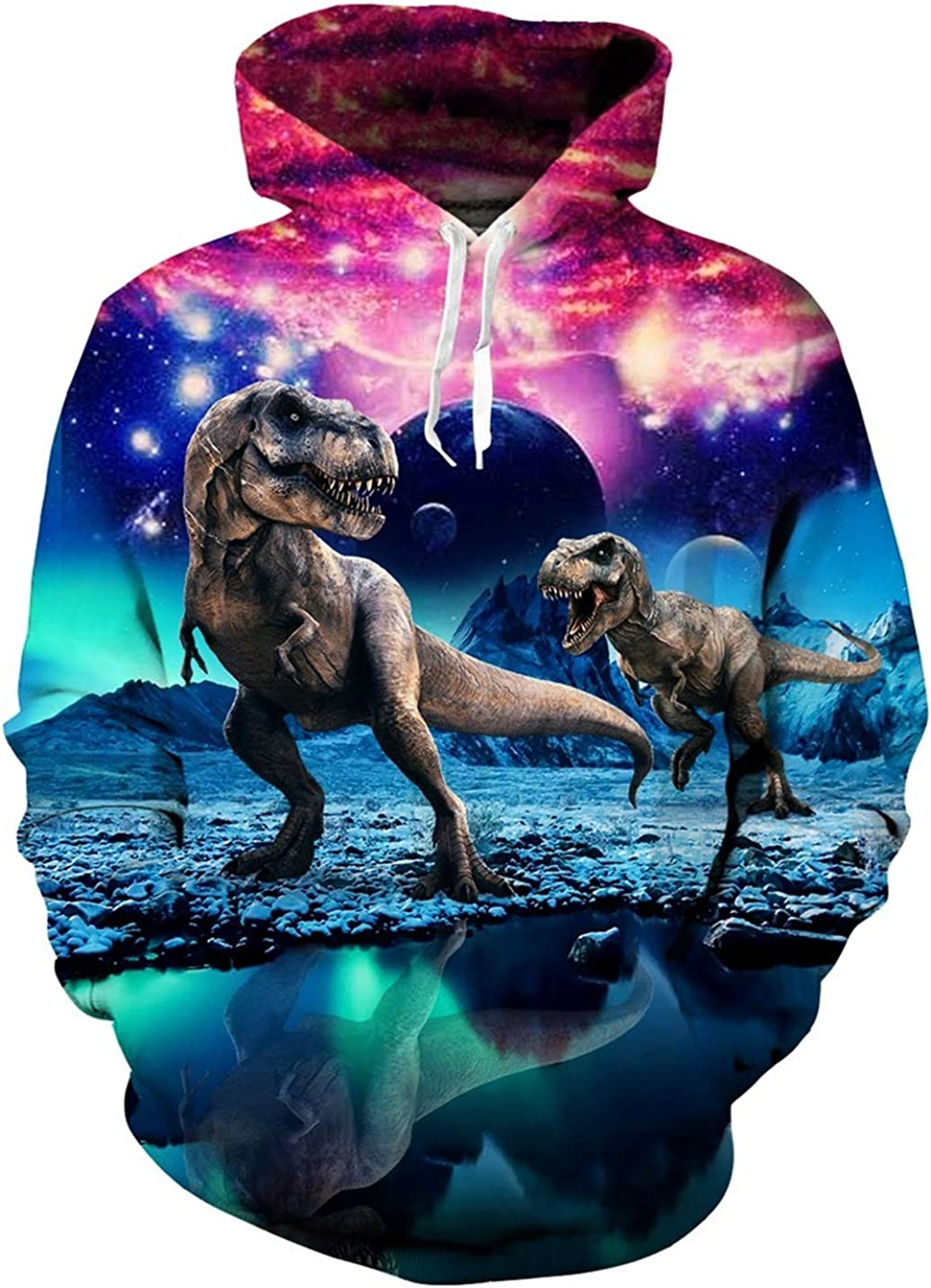 Smallwin Mens Camouflage Hoodie Top Pullover Printed Casual Sweatshirts