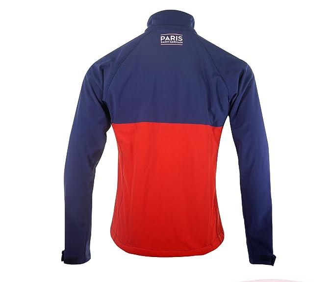 Chaqueta Softshell PSG Marino/Rojo, París Saint-Germain ...