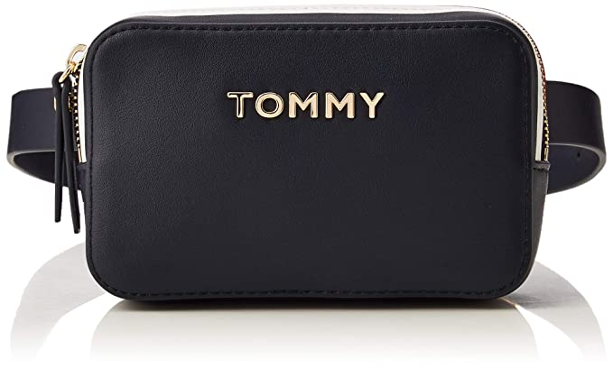 vollständige Palette von Spezifikationen großer Verkauf bezahlbarer Preis Tommy Hilfiger Mädchen Th Corporate Bumbag Geldbörse, Blau (Tommy ...