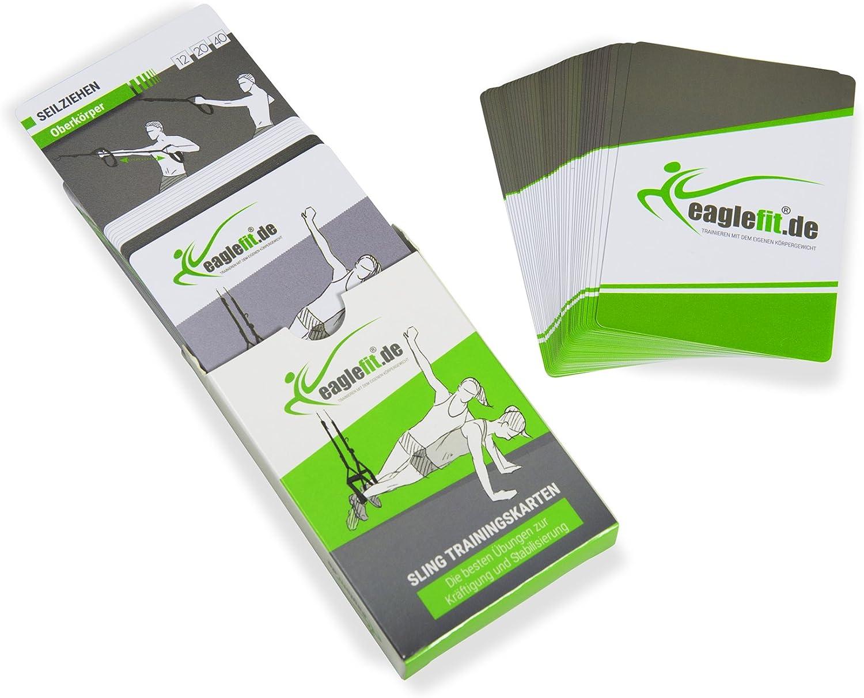 eaglefit Mapas de Entrenamiento para Sling Trainer