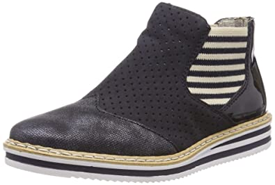 9381a90dc89474 Rieker - N0255-14 - Bottes Chelsea - Femme: Amazon.fr: Chaussures et ...