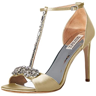 Badgley Mischka Women's Pascale Ankle-High Fabric Pump: Badgley Mischka: Shoes