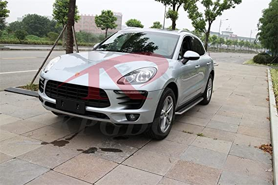 Amazon.com: Fit for Macan S Turbo 2014-2018 Aluminium Running Boards Side Step Door Side Bars Nurf Bar: Automotive