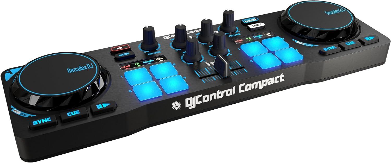 Hercules - DJCONTROL Compact - Controlador DJ - PC/Mac: Hercules ...
