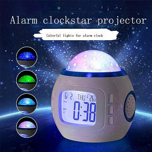 Planetario Proyector Proyector Estrellas Techo Adultos/Despertador ...