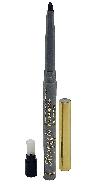 Eyeliner Pencil Retractable Waterproof Soft and Silky application (Dark Green)