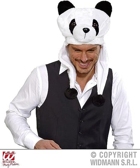 WIDMANN - Sombrero de oso panda: Amazon.es: Juguetes y juegos