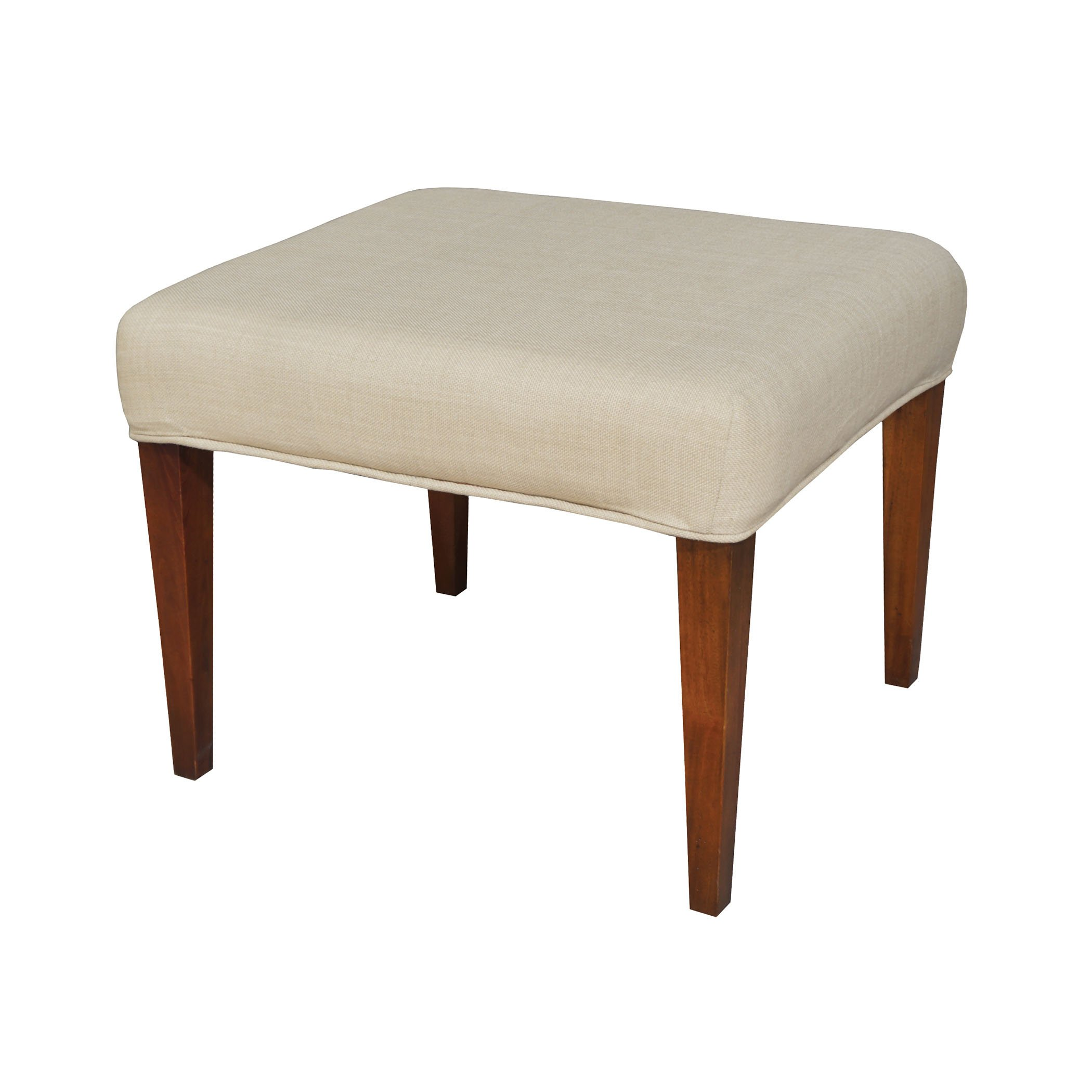 Couture Covers Single Bench Cover - Light Cream by AR Lighting