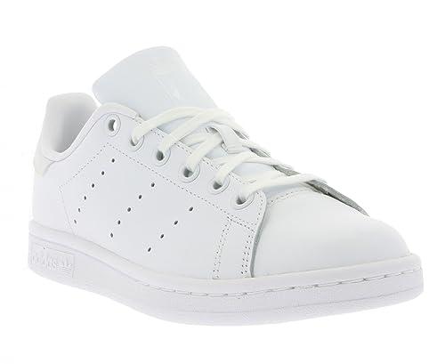 the best attitude e39e9 3a568 adidas Stan Smith J, Zapatillas de Deporte Unisex Niños Amazon.es Zapatos  y complementos