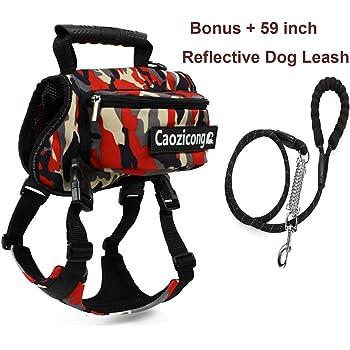 Amazon.com : NeatoTek Adjustable Service Dog Supply Backpack Saddle