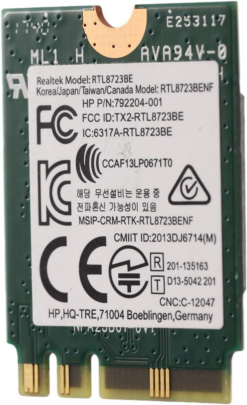 Haudang for Realtek RTL8723BE 802.11N WiFi Card 4.0 NGFF Card SPS 843338-001 300Mbps