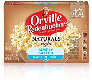 product image for Orville Redenbacher's Naturals Simply Salted Popcorn, Classic Bag, 3-Count