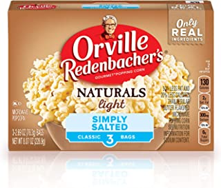 product image for Orville Redenbacher's Naturals Light Simply Salted Popcorn, Classic Bag, 3-Count