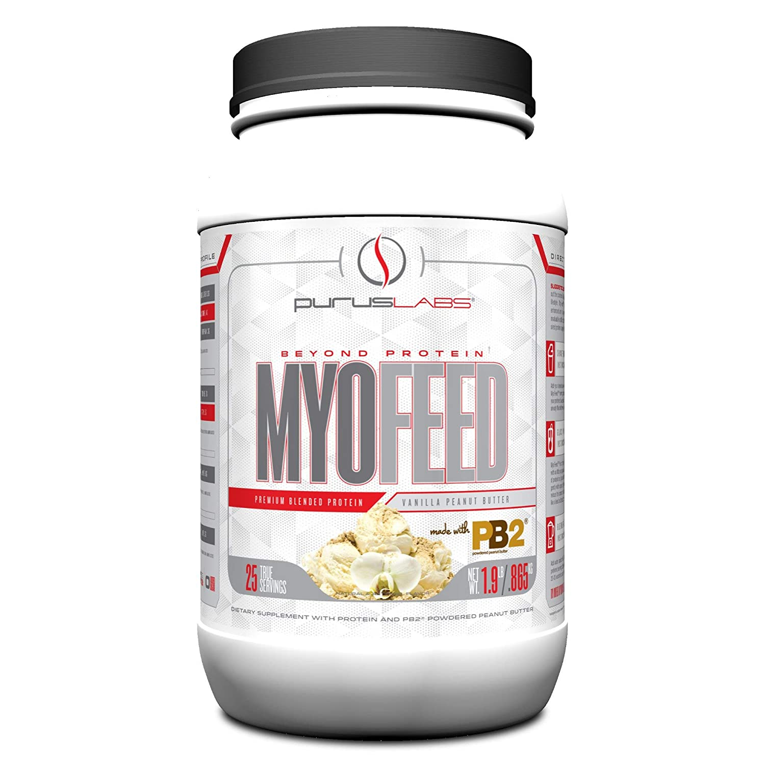 PURUS LABS Myofeed Pb2, Chocolate, 2 Pound