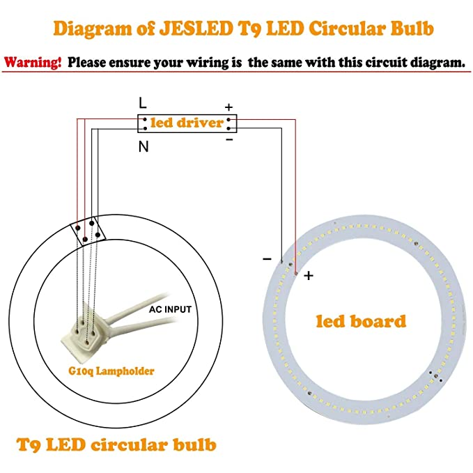 round 4 pin fluorescent light wiring diagram wiring diagram local t9 led circline light bulb 12 inch 1920lm led circular ceiling round 4 pin fluorescent light wiring diagram