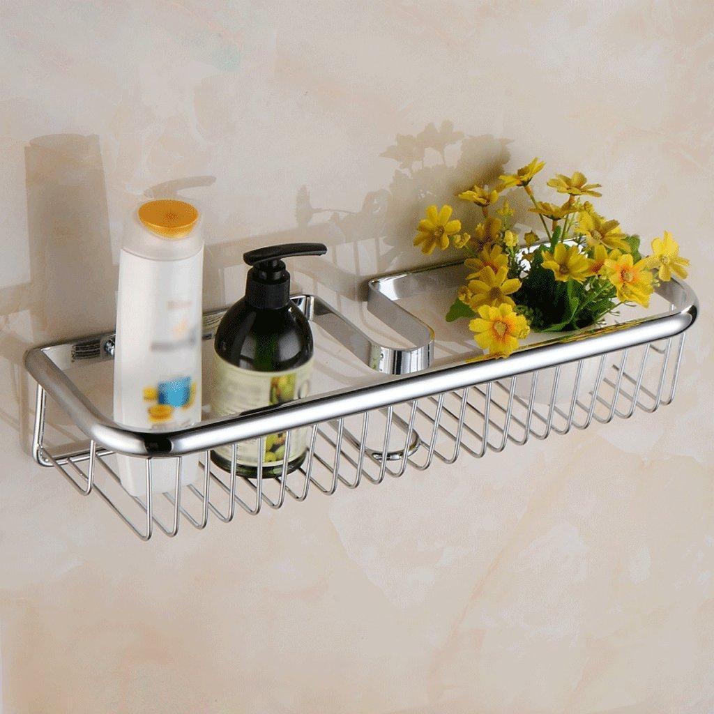 シルバー銅バスルームシャワーラックバスルームアクセサリー B07D1PXQQ3 C C