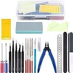 Rustark 21Pcs Modeler Basic Tools Craft Set Hobby Building Tools Kit