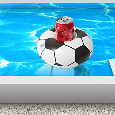 Amazon.com: Inflatable Drink Holder, Pool Soccer Cup Holder Floats Swimming Pool Party Water Cup Holder Beverage Coaster World Cup Toys 16 Pieces 228Cm: ...