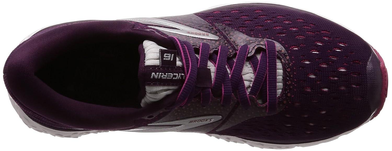 Brooks Womens Glycerin 16 Purple//Pink//Grey 6 B US