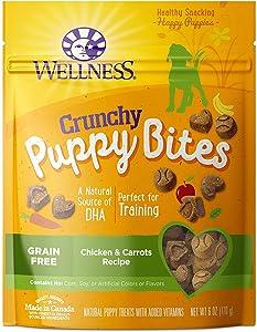Wellness Natural Pet Food Grain Free Puppy Training Treats (Pack of 2)
