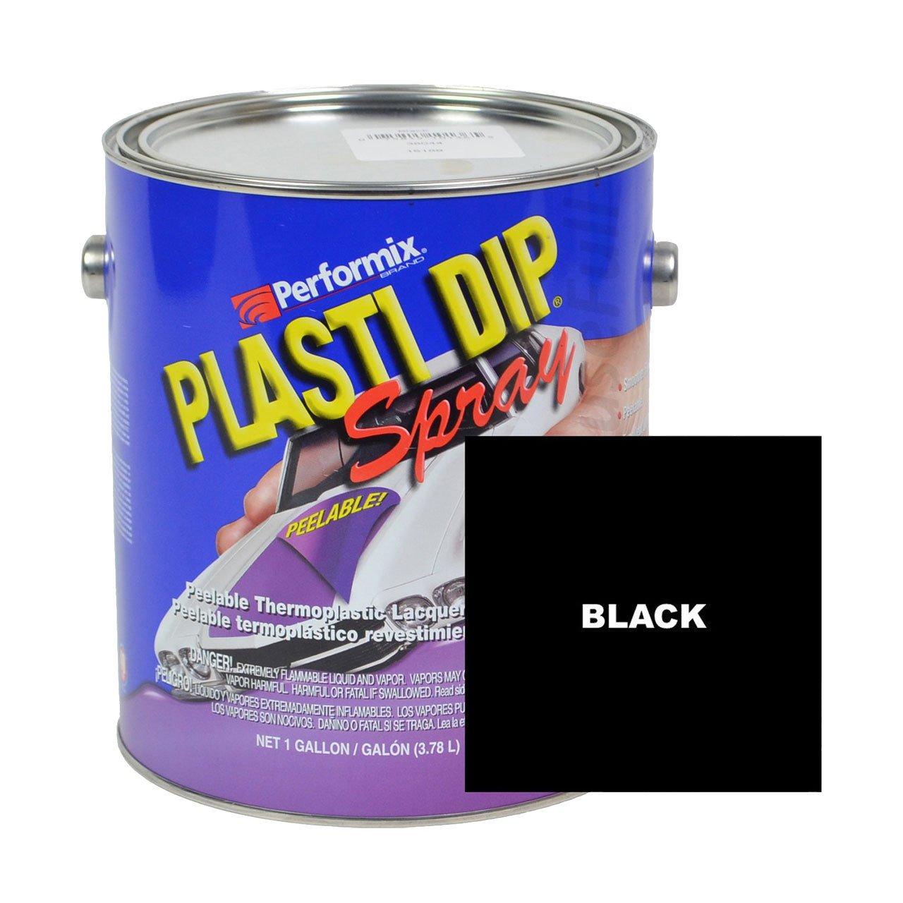 Plasti Dip Multi-purpose Rubber Coating Spray - Sprayable - One Gallon (128oz) - Black by Plasti Dip