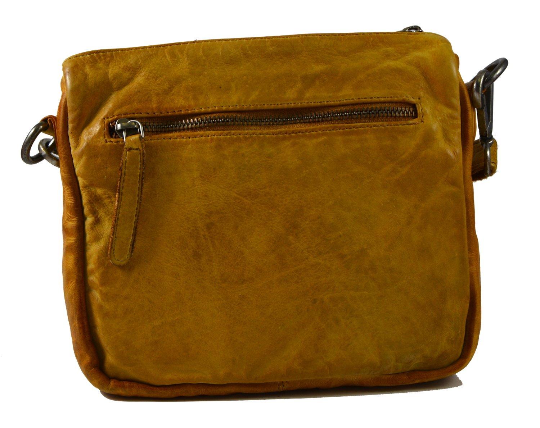 5e5c838ca1 Sac bandoulière pour femme jaune Dark Mustard Chaussures et Sacs  FREDsBRUDER Nestling