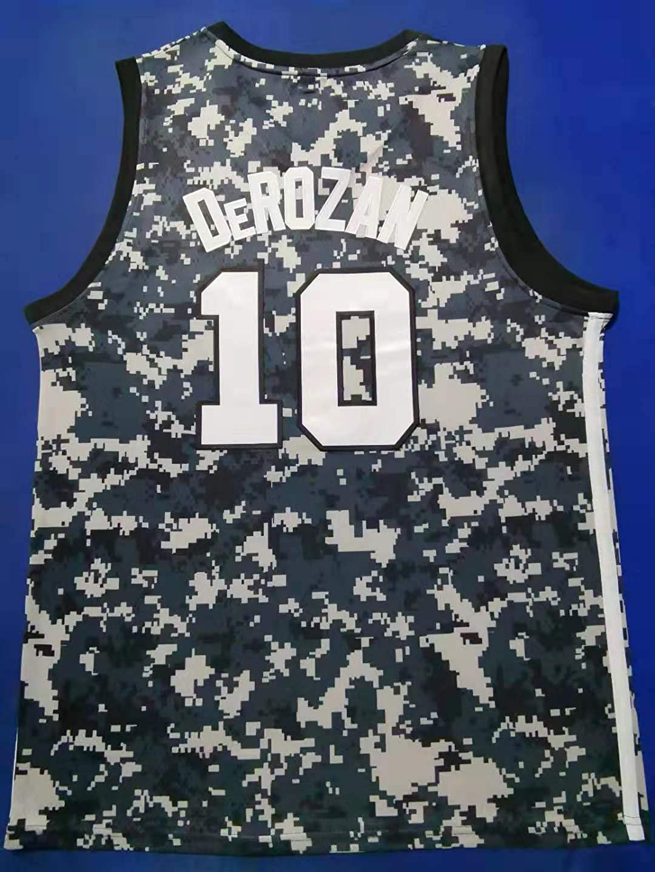 FILWS Basketball Jersey DeRozan Herren Sport Stick Trikot Regul/äre Saison Neue Saison Basketball Uniformen Unisex Schnelltrocknende Stoffe Fan Sportswear