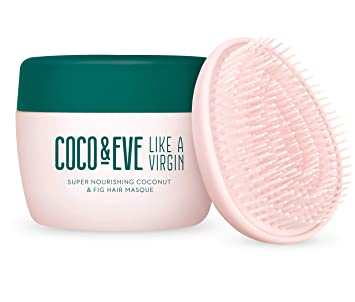 Coco & Eve Like a Virgin Hair Masque  Super Nourishing Coconut & Fig Hair  Mask and Deep