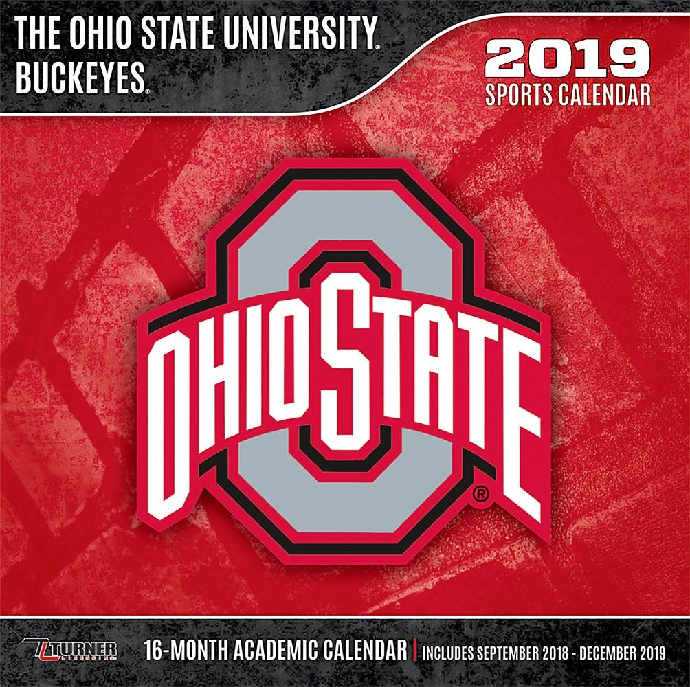 Ohio State Academic Calendar 2019 The Ohio State University Buckeyes 2019 Calendar: Lang Holdings