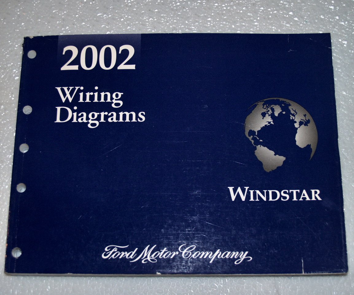 2002 Ford Windstar Wiring Diagrams Ford Motor Company Amazon Com Books