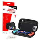 Nintendo Switch Carrying Case Protective Hard Portable Travel Shell Pouch with Handle By Mibote