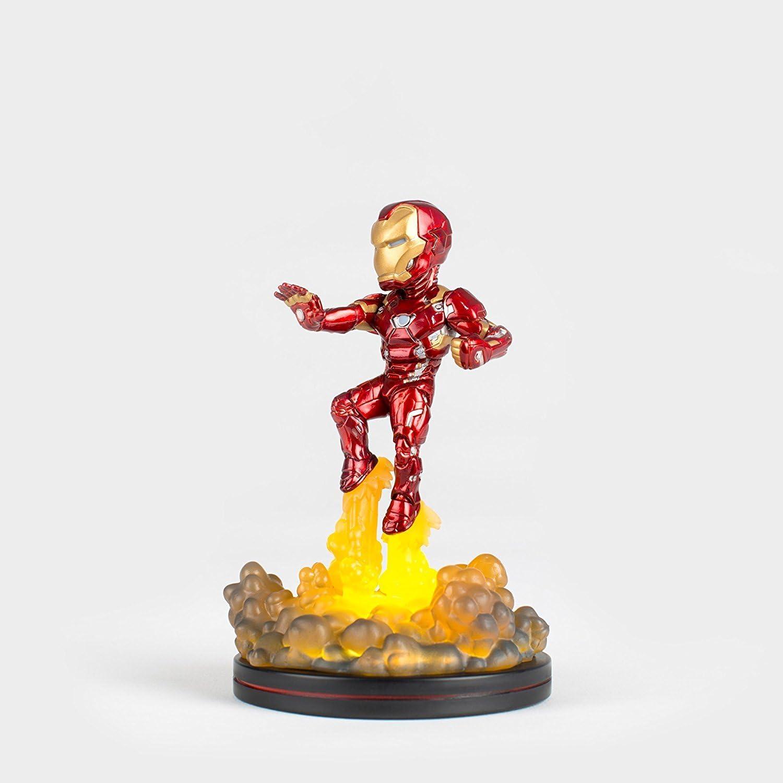 Quantum Mechanix Iron Man Light-Up Q-Fig FX Diorama Standard