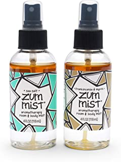 product image for Indigo Wild Zum Mist Frankincense & Myrrh and Sea Salt Mist Body Spray 4 fl. oz. each, 2 Pack