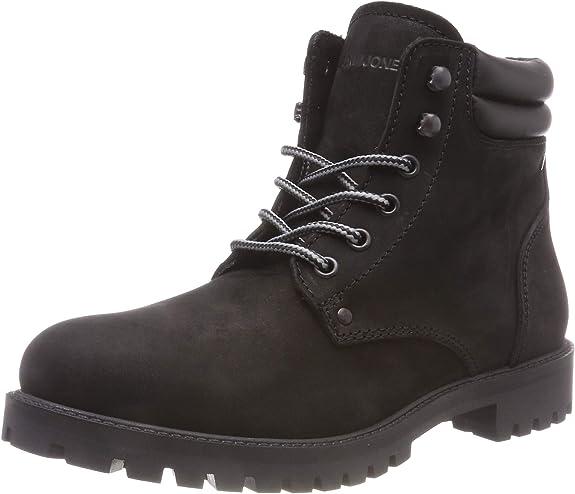 TALLA 46 EU. Jack & Jones Jfwstoke Nubuck Boot Mono Black Noos, Botas Clasicas para Hombre