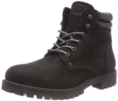 get cheap so cheap new arrival Jack & Jones Men's Jfwstoke Nubuck Boot Mono Black Noos Classic