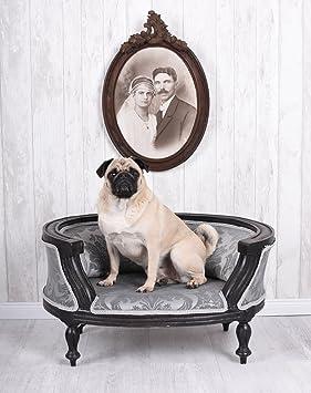 LUJO CAMA PARA PERRO barockbett CUNA PARA PERRO Sofá para perro Barroco mopsbett Palazzo exklusiv: Amazon.es: Productos para mascotas