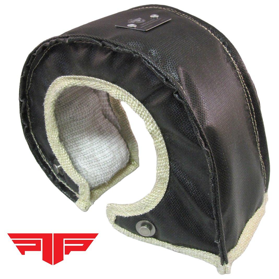 PTP 000509 T6 Turbo Blanket / Turbo Shield / Heat Shield - Black PTP Turbo Blankets