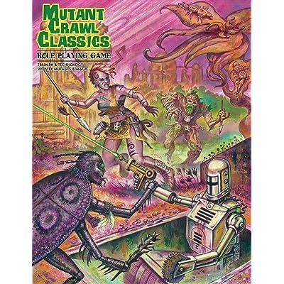 Mutant Crawl Classics: Goodman Games: Toys & Games