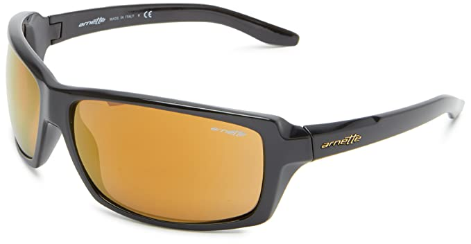 Gafas de Sol Arnette AN4172 CHOP SHOP BLACK / BROWN MIRROR BRONZE