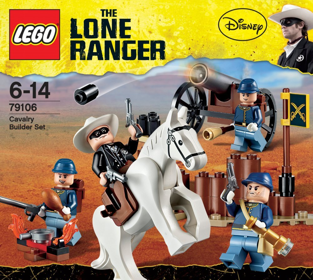 lego the lone ranger 79106 cavalry builder set amazon co uk