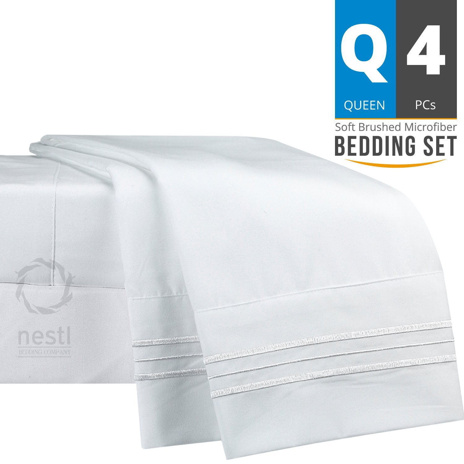 Bed Sheet Bedding Set, Queen Size