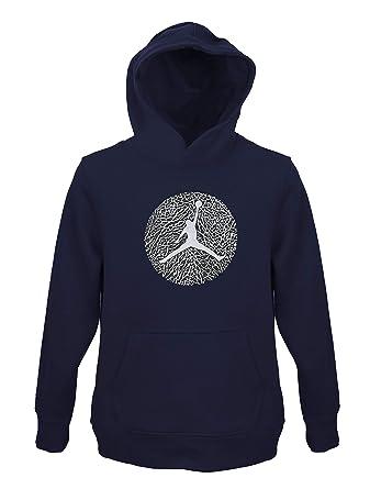 aef2e0a3c72e Amazon.com  Jordan Air Boys Youth Fleece Hoodie Sweatshirt Size M ...