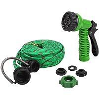 HOKIPO® 7 Pattern High Pressure Garden Nozzle Water Spray Gun with Hose Pipe, 20 Meter