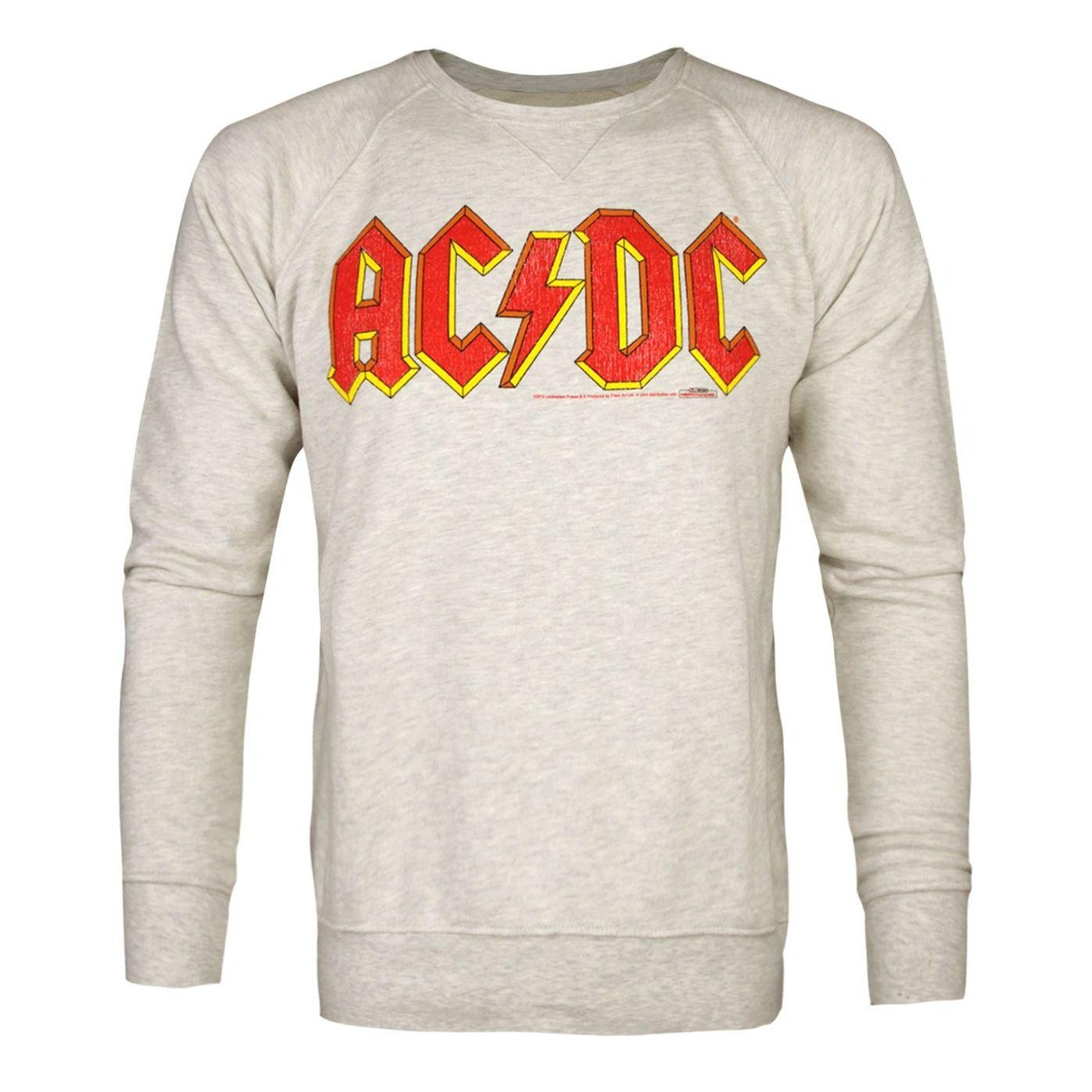 Amplified Official Mens AC/DC Comics Logo Sweatshirt UTNS4965_1