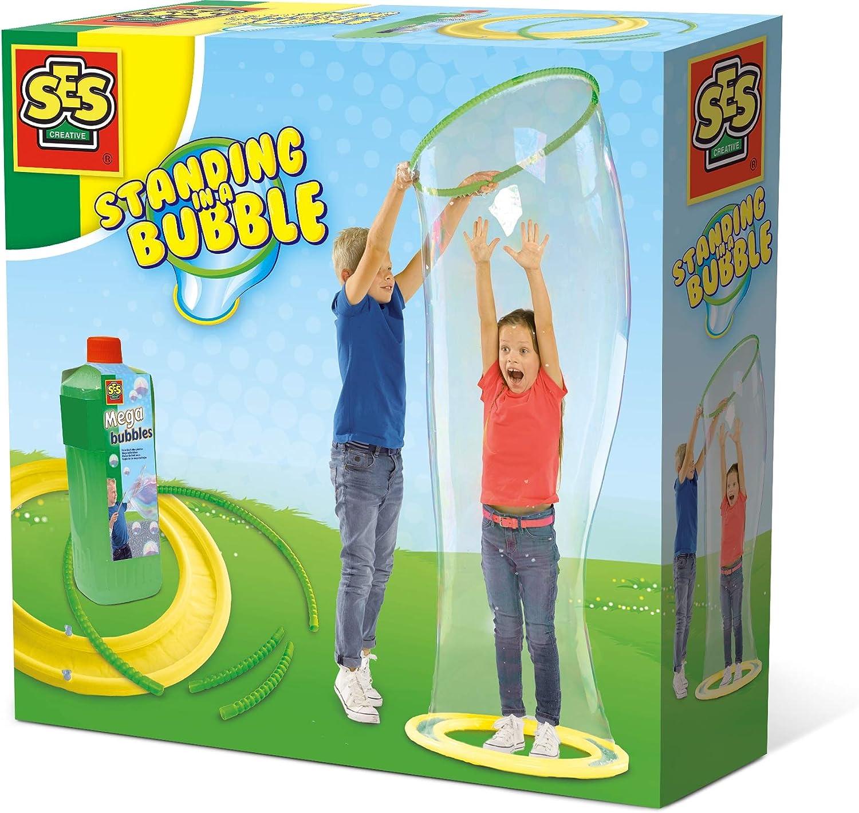 SES Creative-Métete en una Burbuja Gigante De pie en una Mega (02257)