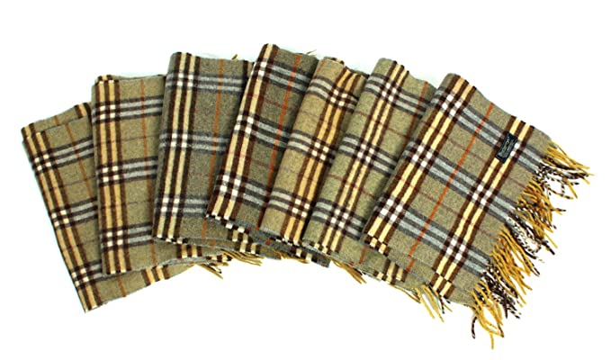 Image Unavailable. Image not available for. Colour  BURBERRY Vintage Scarf  Classic Nova Check 100% Lambswool ... 68738e3c356