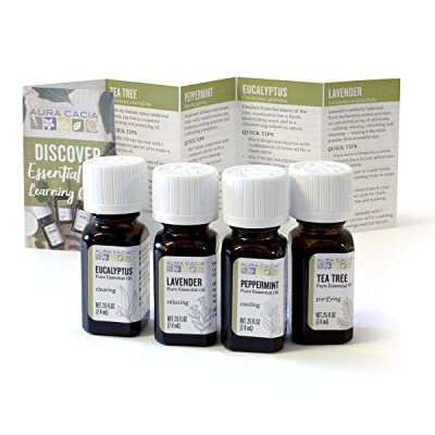 Aura Cacia - Discover Essential Oils Kit